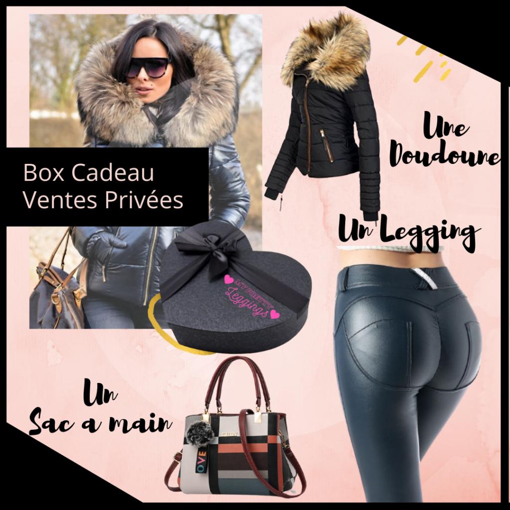 box et vente privée mode beauté femme
